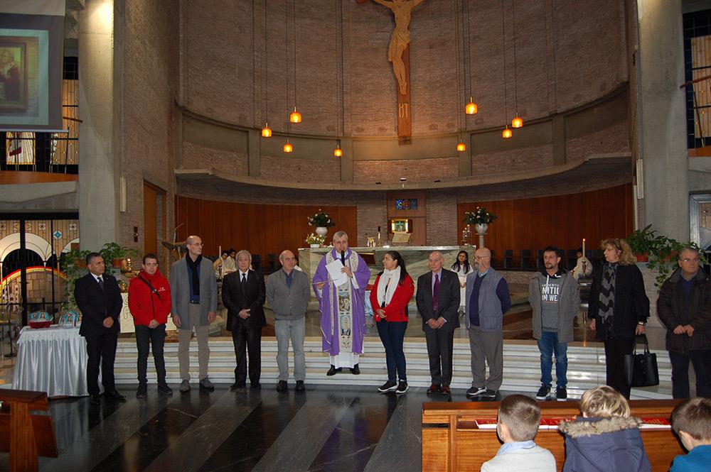 """Benedizione dei Serventi organizzatori di """"Viva la Befana"""""""